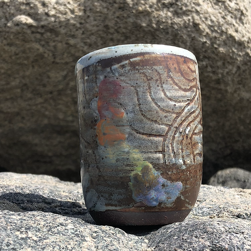 Painted Shell Tumbler