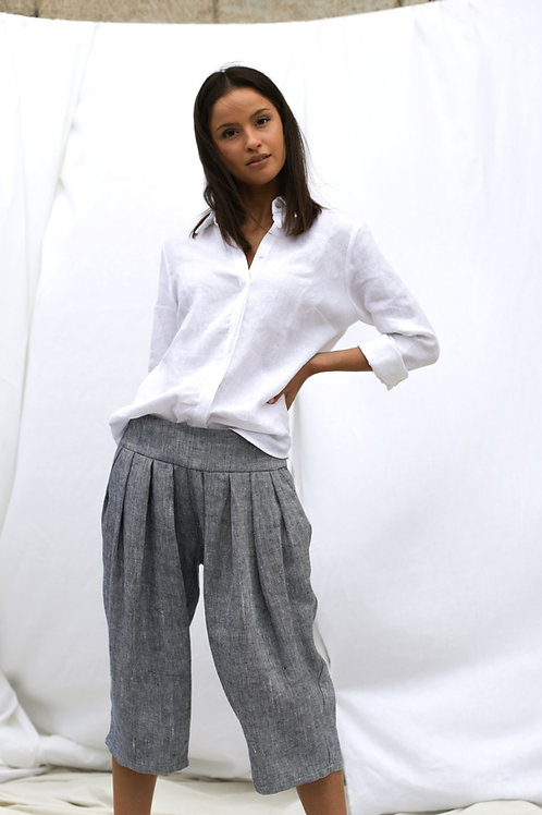 Spodnico-spodnie z zakladkami