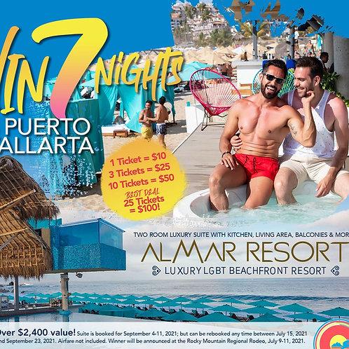 Chance Drawing: 7 Nights in Puerto Vallarta