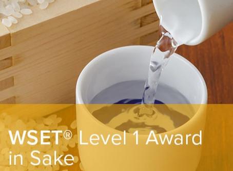 NEW! WSET Level 1 in Sake Class