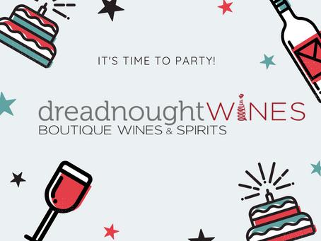 Happy Birthday, Dreadnought Wines!