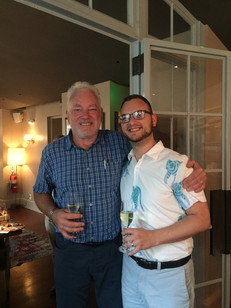 Adam with South African Winemaker Ken Forrester