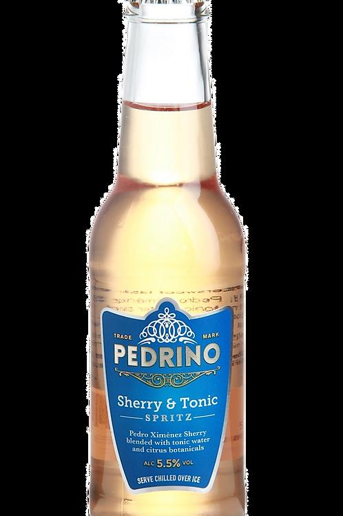 Pedrino Sherry And Tonic Spritz 1x200ml Bottle