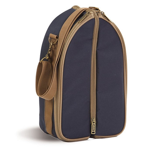 Discovery Wine Duffle - Classic Blue Canvas