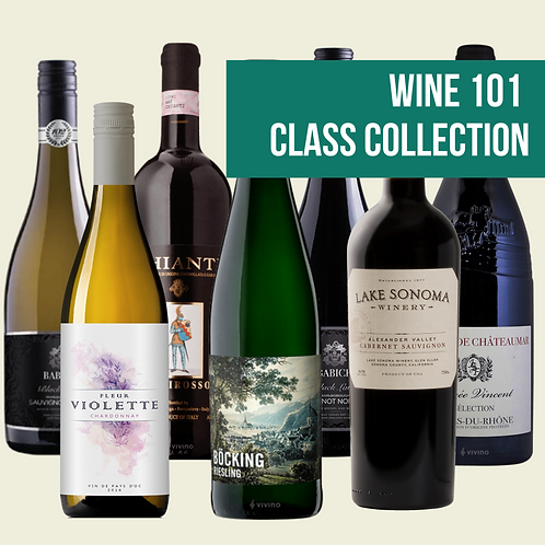 Wine 101 Class Collection