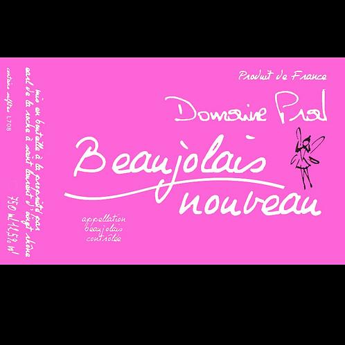 Domaine Marion Pral Beaujolais Nouveau Rosé