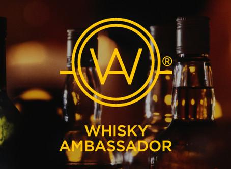 IT'S BACK! Whisky Ambassador Certification & Master Tasting