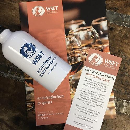 WSET Level 1 Award in Spirits Gift