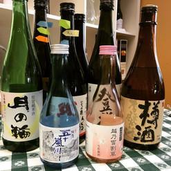 Sake Selection