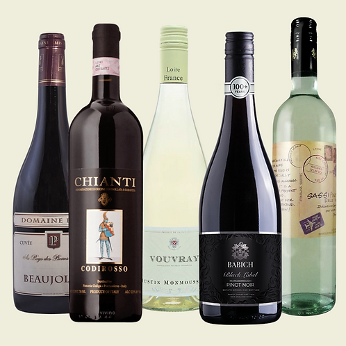 Wine 101: Food & Wine Pairing Collection