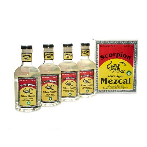 Scorpion Mezcal Sampler Box
