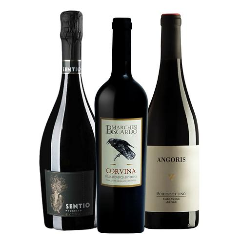 Wine & Cheese: Asiago & Parmesan