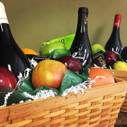 Beautiful Fruit & Gourment Foods Gift Baskets