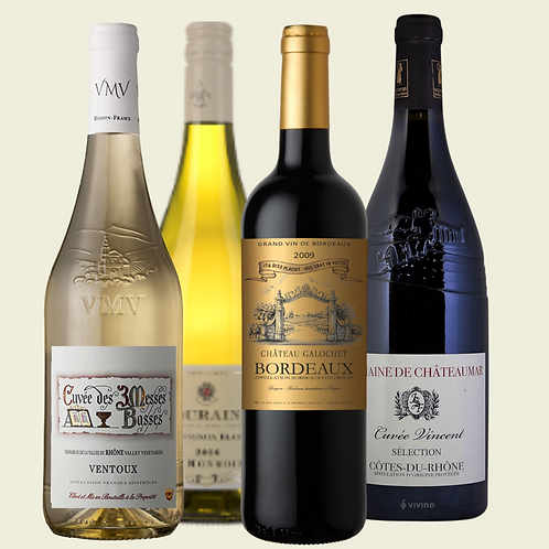 French Wine & Cheese Collection