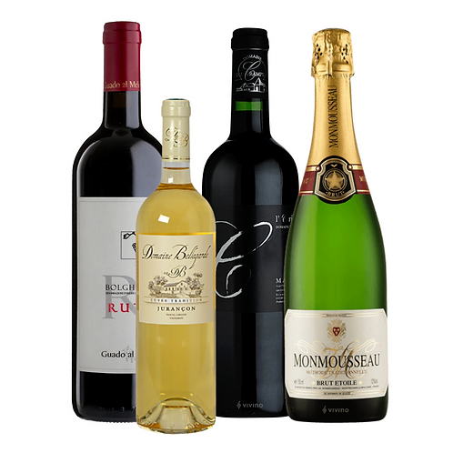National Cheese Day Wine Set