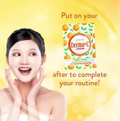 7.21.2020 FA Derma C Product On the glow