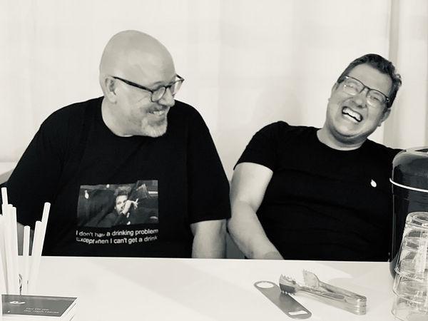 Jens (links) und Sven