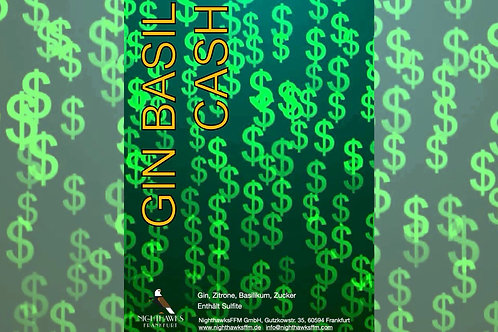 Gin Basil Cash (Gin, Basilikum)