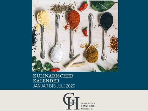 Kulinarischer Kalender Januar bis Juli 2020