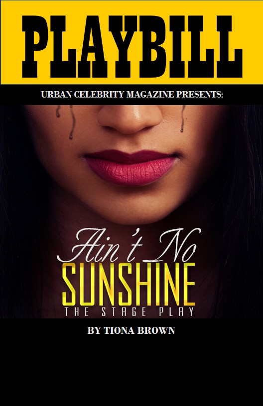 PLAYBILL AINT NO SUNSHINE