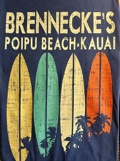 Brennecke's Surf Stripes S/S T