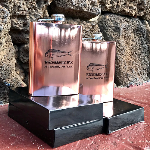 Copper Brennecke's Flask