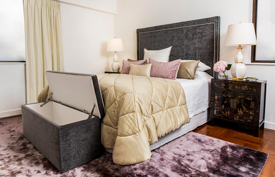 Bedroom Storage Ottoman