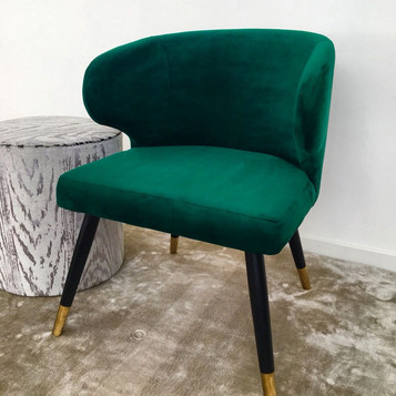 Emerald Velvet dining chair
