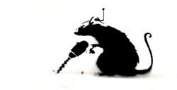 Banksy Driller Rat
