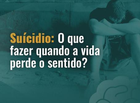 O Valor da vida e o suicídio