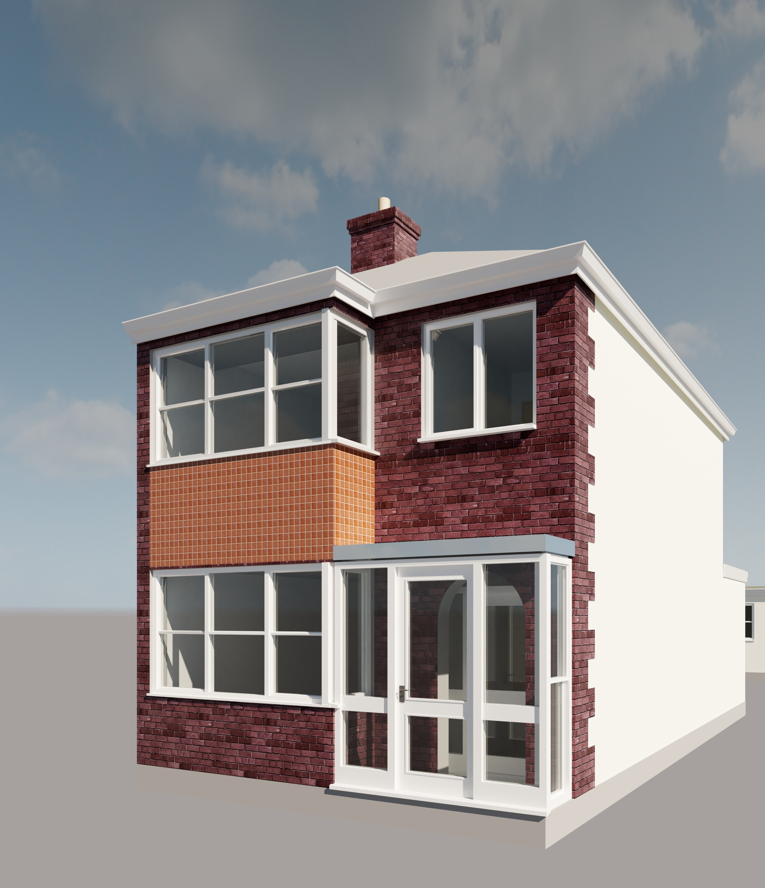 Semi-Detached Render