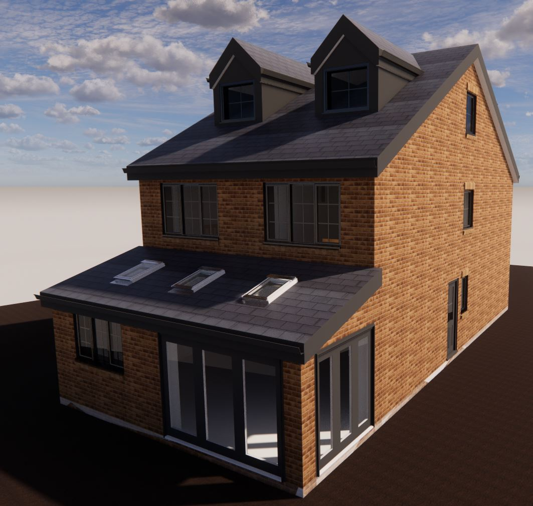 New Builder - 4 Bed Detached Dwelling