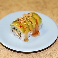 Sweet Crunch Salmon Roll