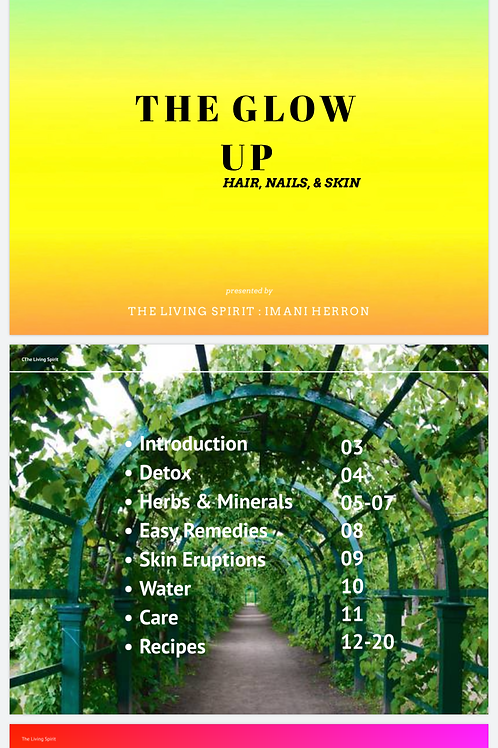 The Glow Up E-Booklet