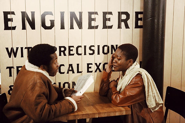 Ayomie & Oz at Foundation Coffee House Northern Quarter