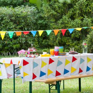 Outdoor Birthday Table