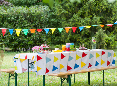 Summer Lunch Party at Rottingdean, Sussex