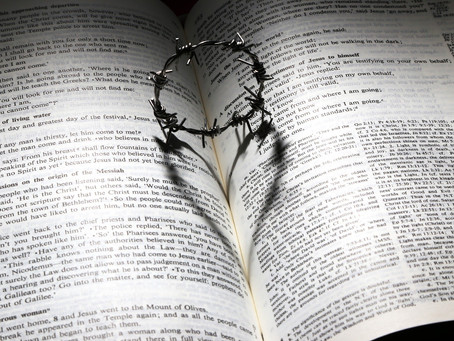 Marc 15:16-20 Le couronnement d' épines.