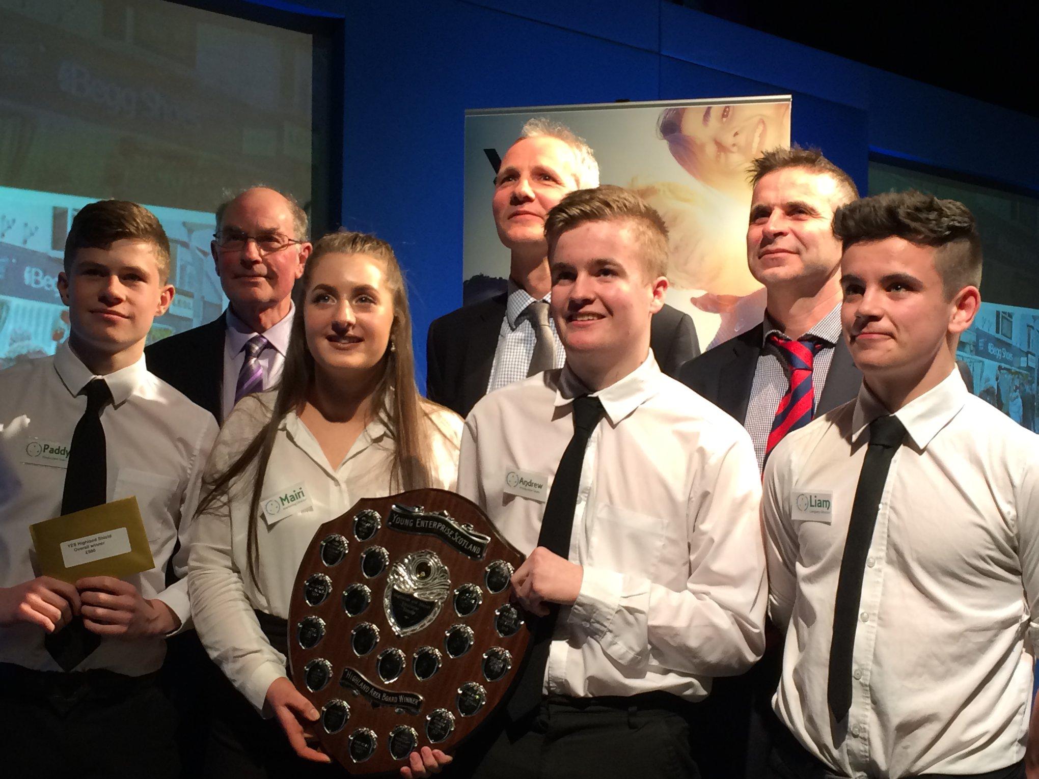 Young Enterprise Winners 2018