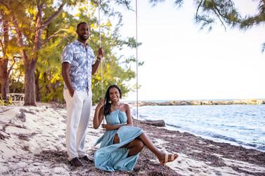 engagement photo rose island