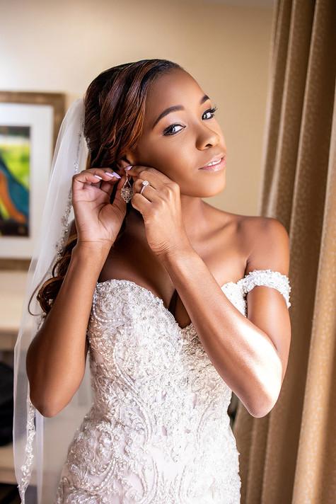 bride photo dressup