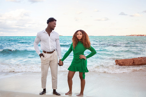 Bahamas Engagement Photos