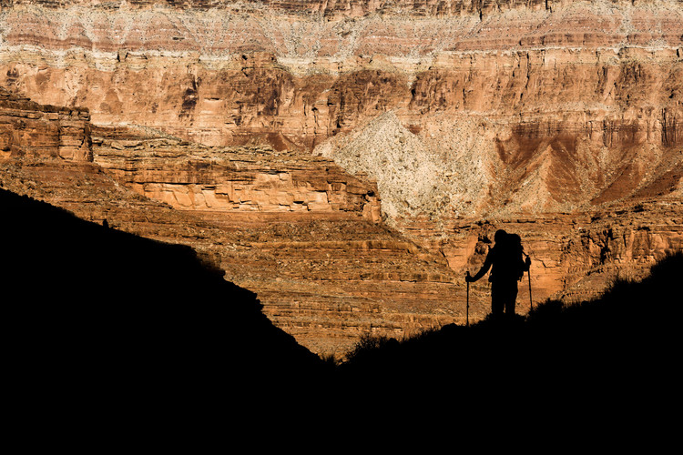 Hiking in Marble Canyon