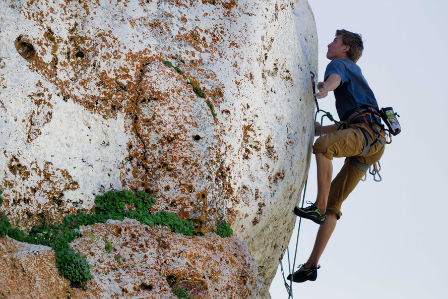 Climbing at Wild Iris, Wyoming