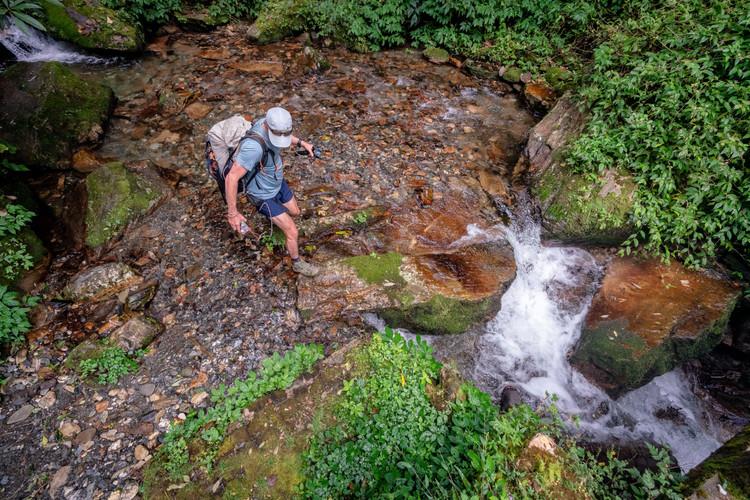Seth Wolpin near Annapurna
