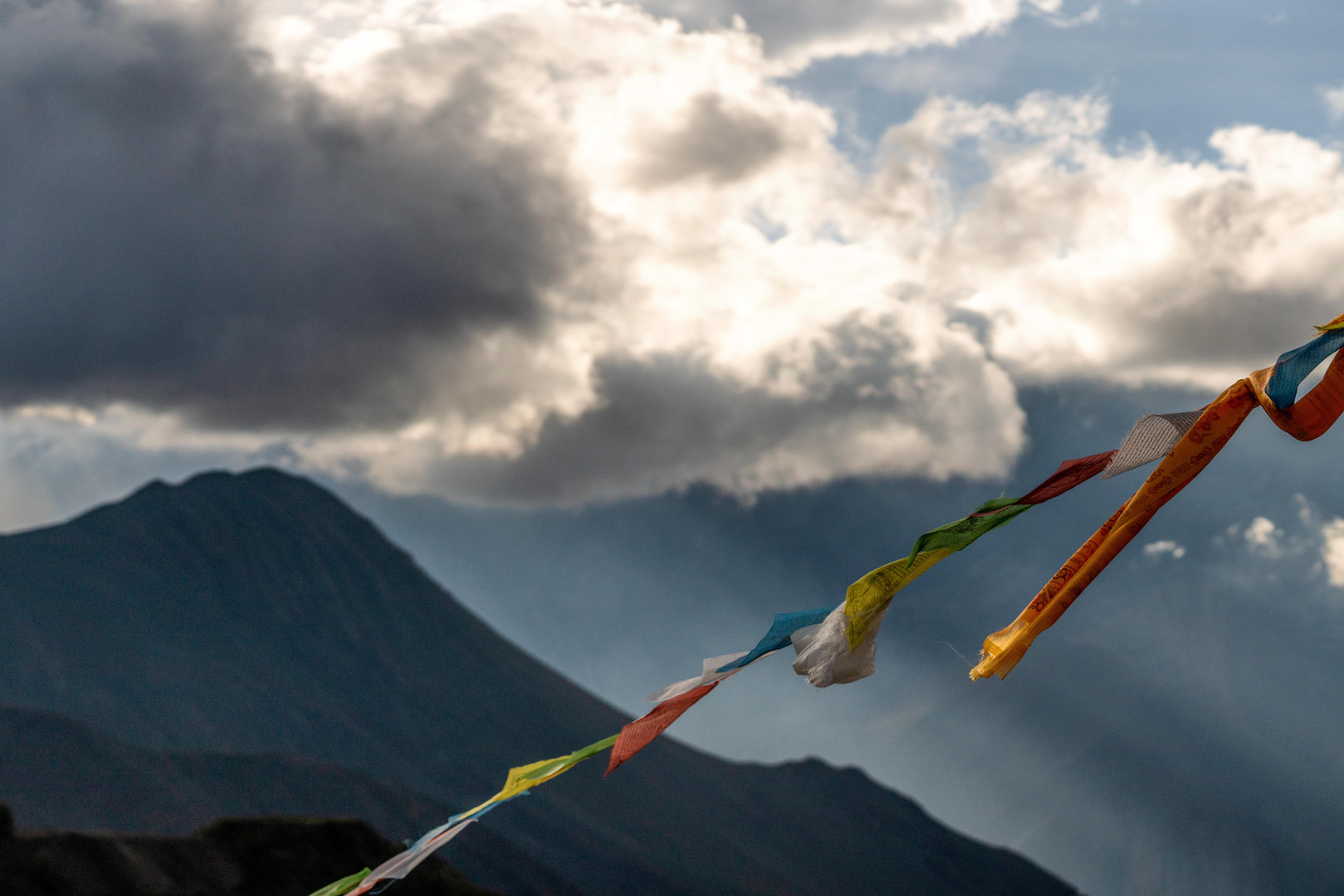 Views toward Sangdache Himal