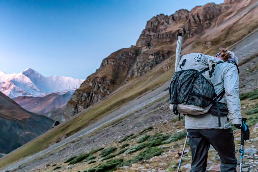 Annapurna Range in the background