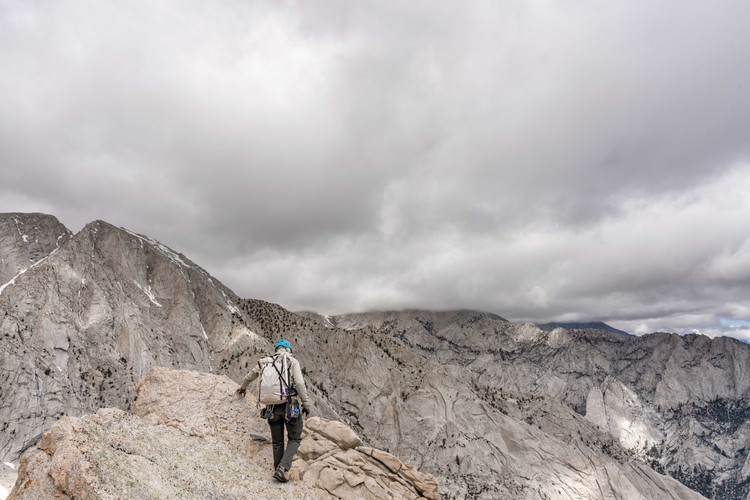 Jeff Webb eyeing a storm in the High Sierra
