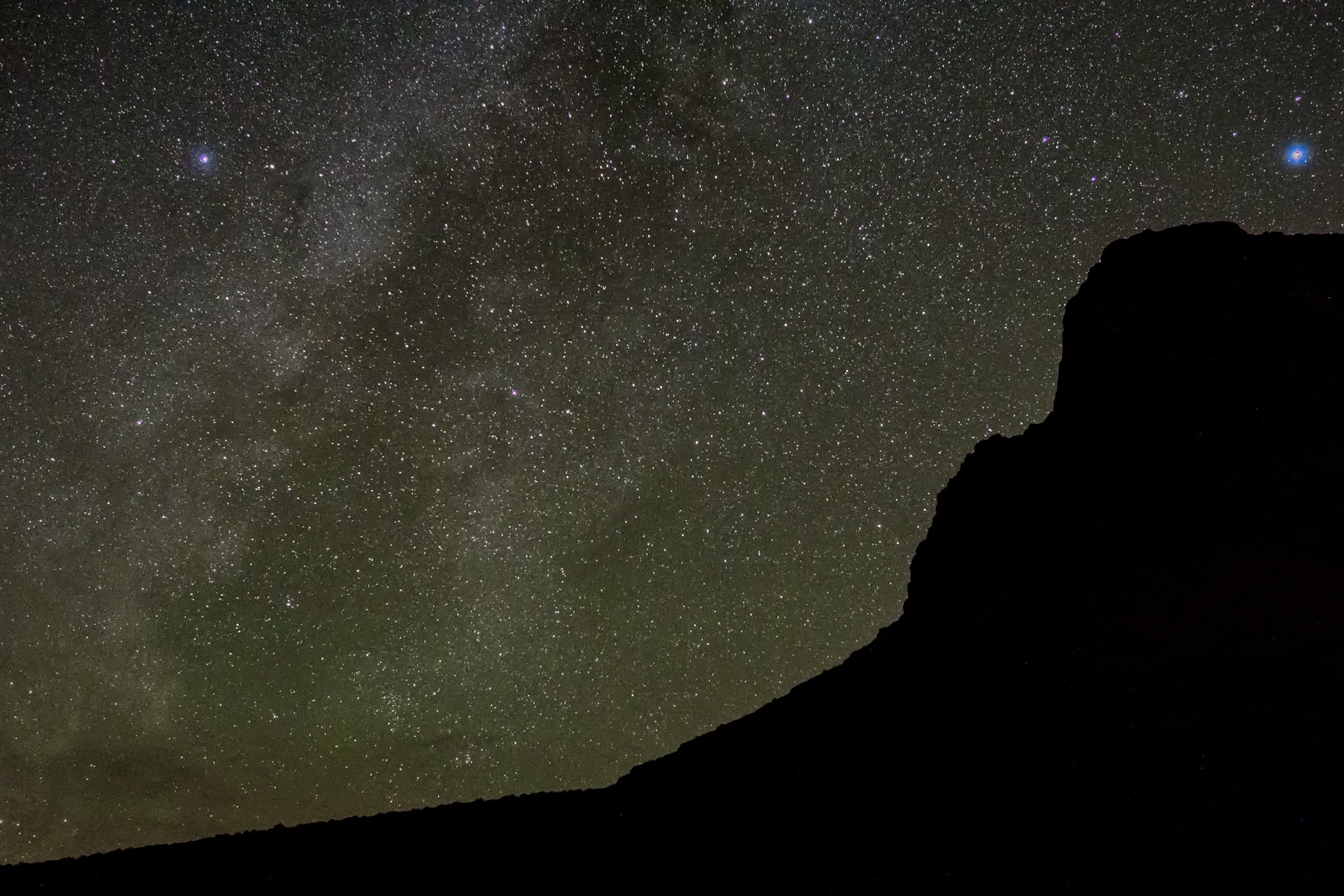 Night skies in Grand Canyon