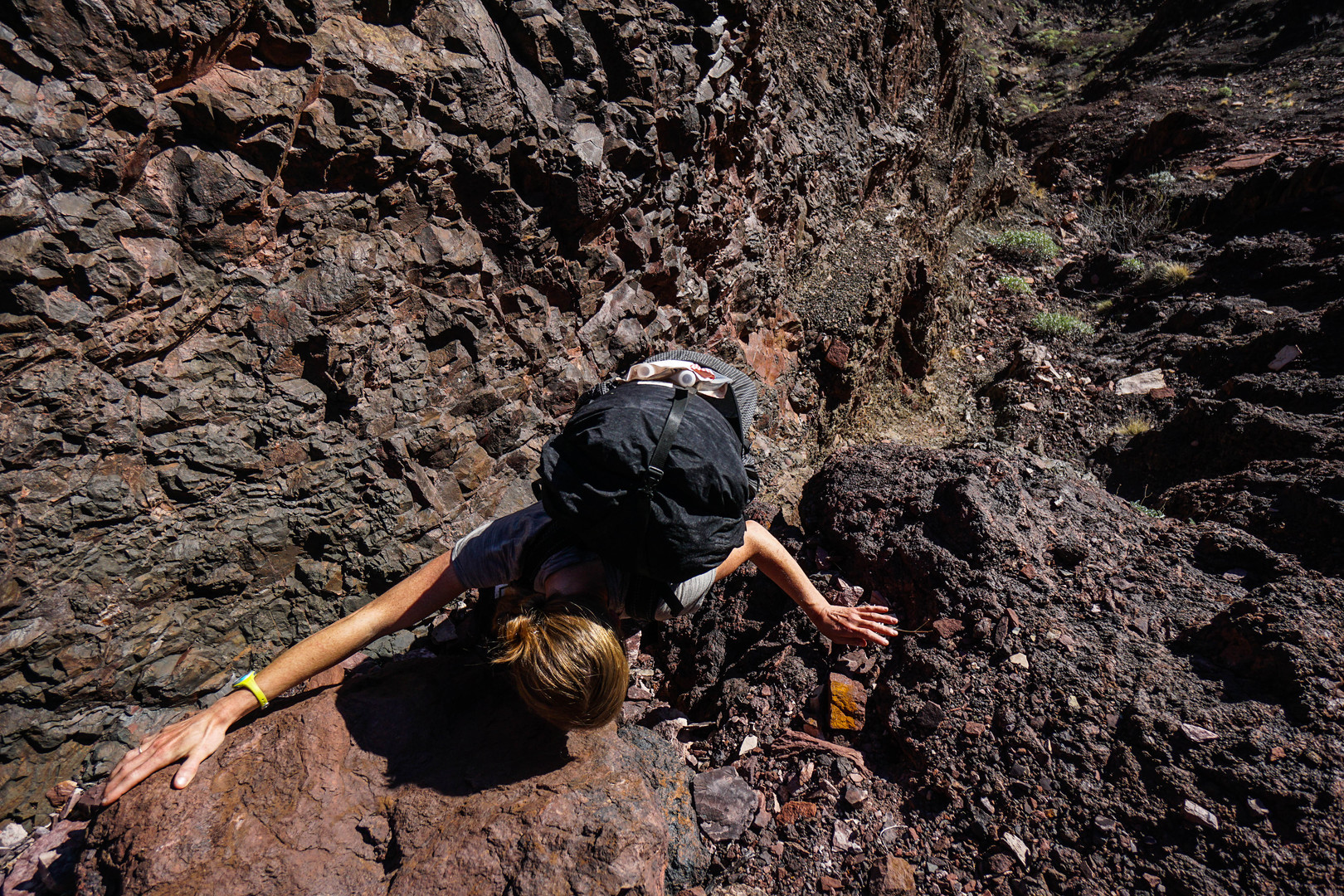 Elyssa Shalla in Grand Canyon